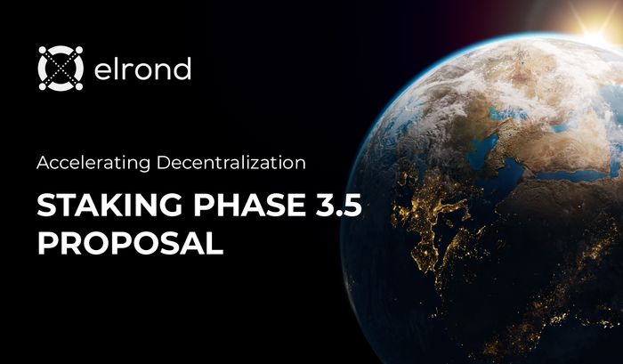 Accelerating Decentralization: Staking Phase 3.5 proposal